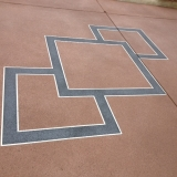 Concrete resurfacing diamond pattern - Brisbane 2
