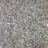 Exposed aggregate concrete close up - Brisbane