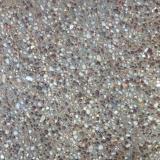 Exposed aggregate concrete close up - Brisbane