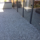 Exposed aggregate concrete for pool - Brisbane 2