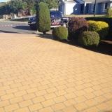 Brick stencil driveway - Brisbane 2