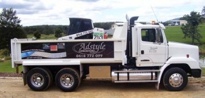 Adstyle truck