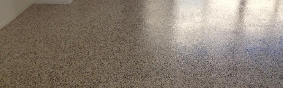 Epoxy polymer flooring